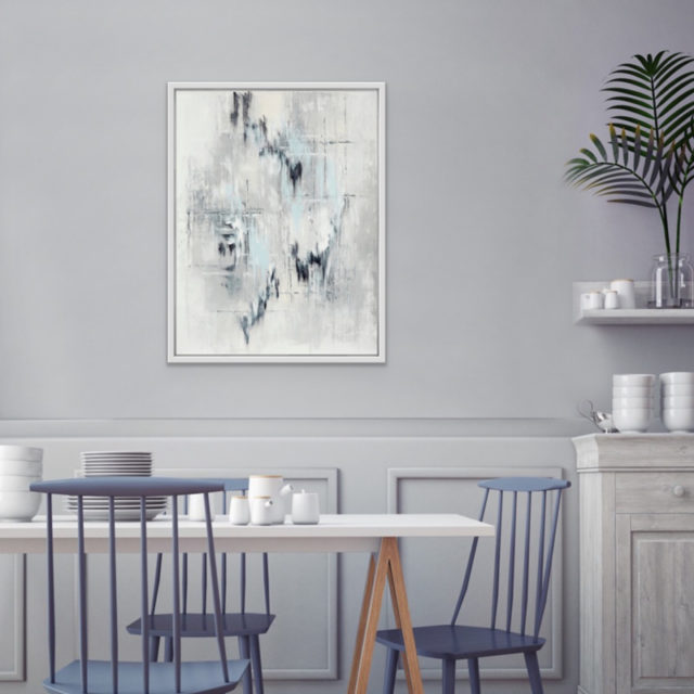 Pale Haze artwork on display in dining area