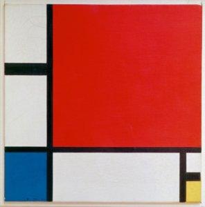 Piet Mondrian Painting