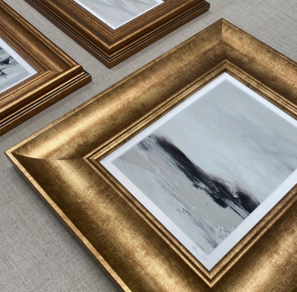 close up of the gold edit collection