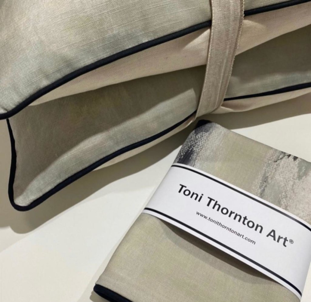 displaying cushions